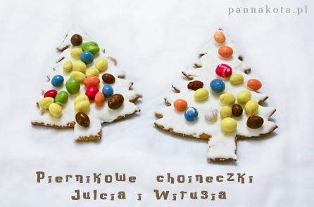 piernikowe choineczki i pierniczki, julwitki.pl