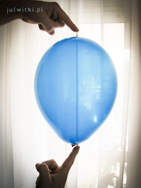 przekłyty balon, julwitki.pl